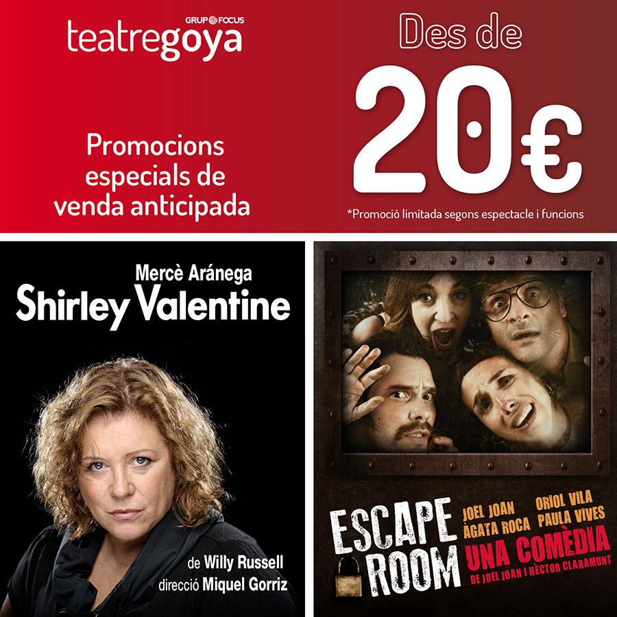 Teatre Goya promocions