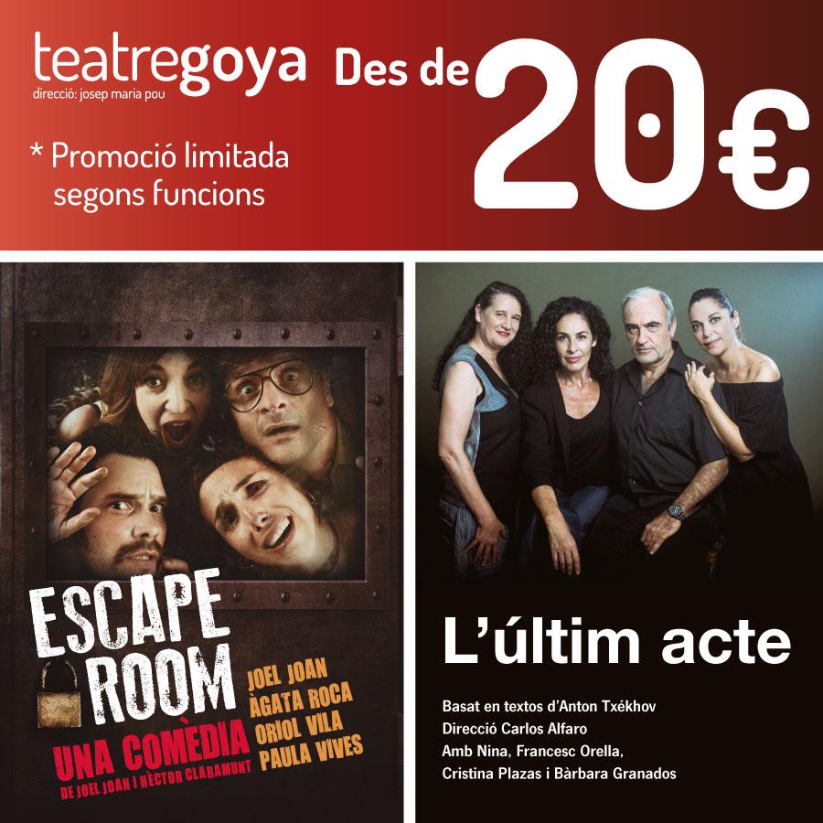 teatre goya promoció