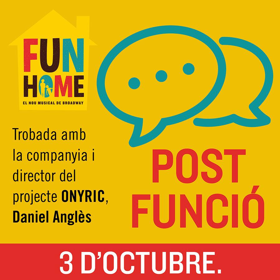 Post Funció - Teatre Barcelona - ONYRIC